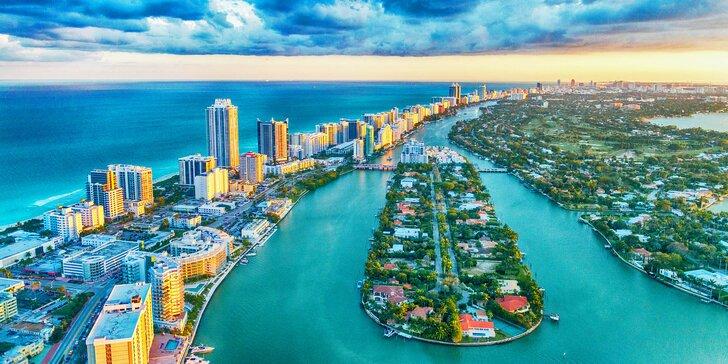 Tropický ráj Miami Beach: letenka, 7 nocí v hotelu a průvodce pro malou skupinu