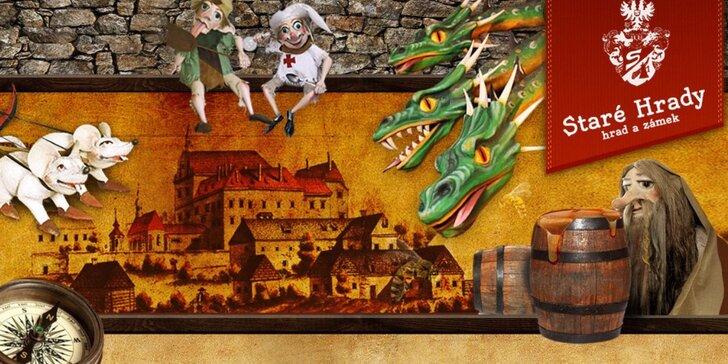 Rodinný čokovýlet za zvířátky a pohádkovými bytostmi na Staré Hrady