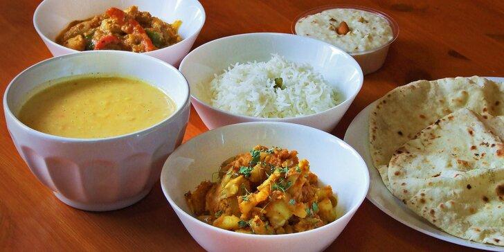 Ochutnejte Indii: polévka, hlavní chod a dezert v Black Taj Kebab dle výběru