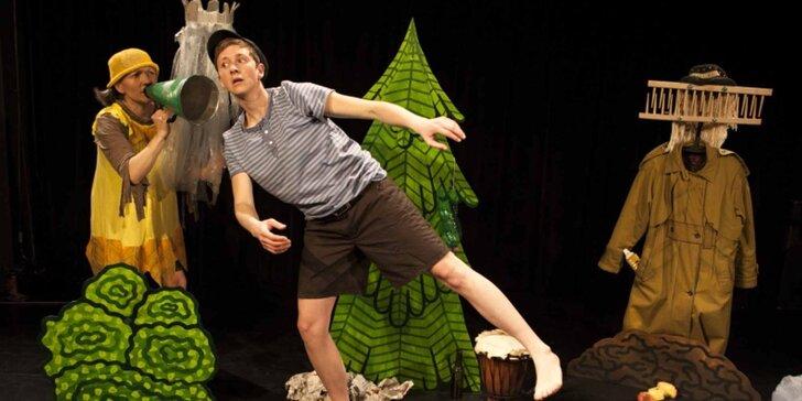 """Vstupenka na divadelní představení """"Honza a lesní skřítek"""""""