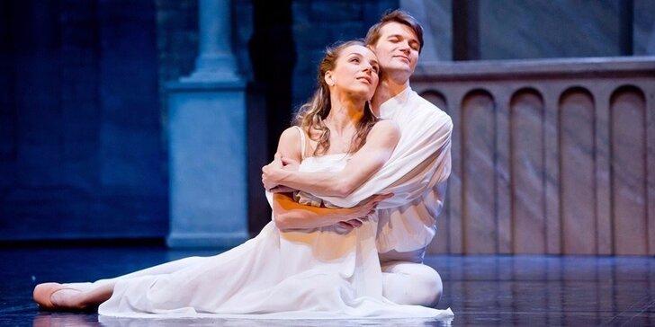 Květnové vstupenky na baletní představení Romeo a Julie v Divadle Hybernia