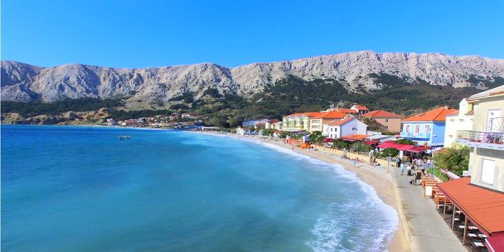 8 dní u moře ve studiu či apartmánu na ostrově Krk s možností dopravy i stravy