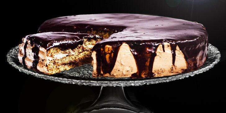 Čokoládový dort ArménkA, který zabodoval v televizní soutěži Recept na bohatství