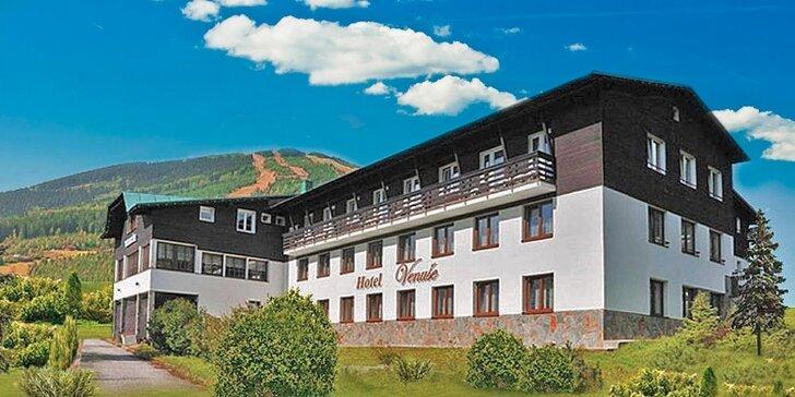 Odpočinek a výlety v hotelu s panoramatickým výhledem na Špindlerův Mlýn