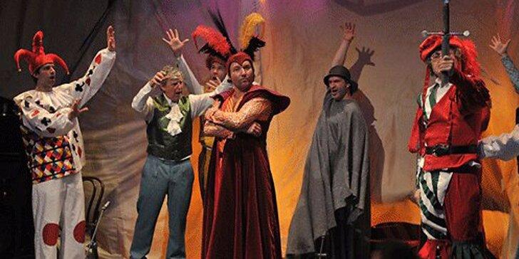 Vstupenka na divadelní představení: Faust a Markétka
