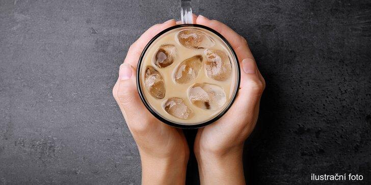 Ledová káva s příchutí dle výběru