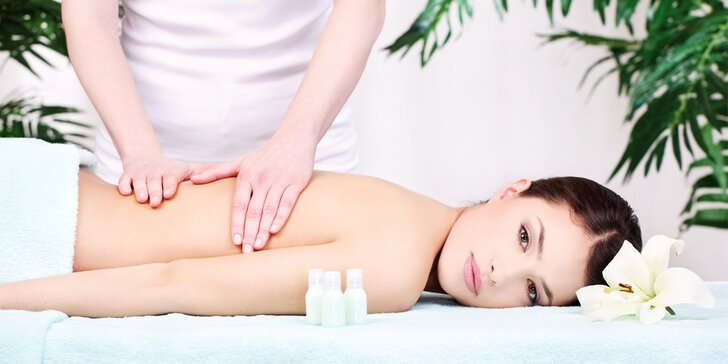 Švédská masáž a kosmetické ošetření včetně ultrazvukové špachtle
