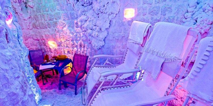 Relaxace v solné jeskyni pro 2 osoby v Lázních Jupiter
