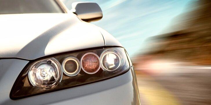 Leštění a renovace světlometů vozidel vč. prohlídky a diagnostiky
