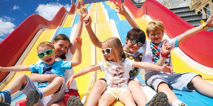 2denní vstupenka pro děti i dospělé do polského zábavního Inwald parku