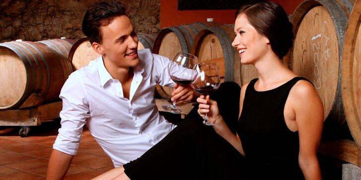 Oddech mezi vinicemi: pobyt pro dva s ochutnávkou vína, pálenek a likérů