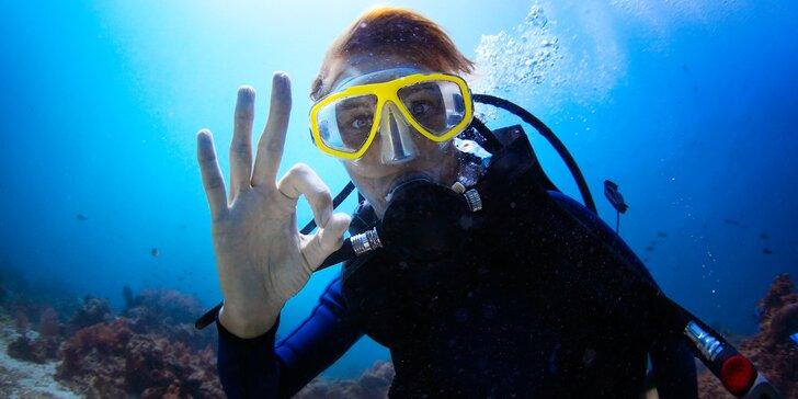 Komplexní potápěčský kurz pro začátečníky se školou Enjoy diving