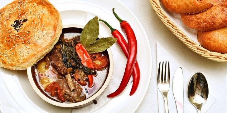 Nahlédněte pod pokličku uzbecké kuchyně: 4chodové degustační menu pro dva
