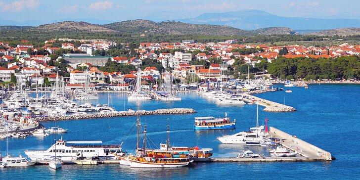 Relax na Jadranu: klidná dovolená s polopenzí v chorvatském letovisku Vodice