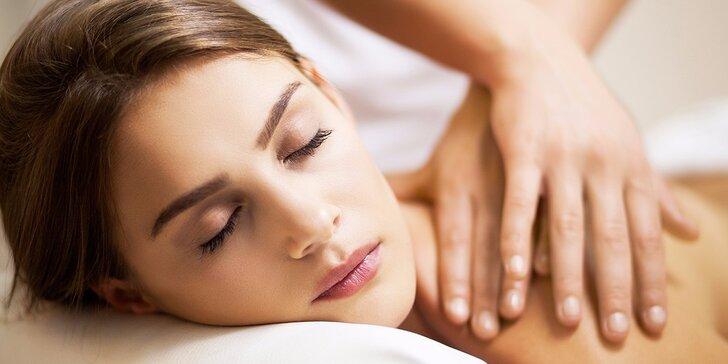 Klasická masáž od nevidomých masérů s vynikajícím citem