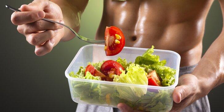 5 nebo 10 dní bez vaření - vyvážené Fitness food menu s doručením až domů