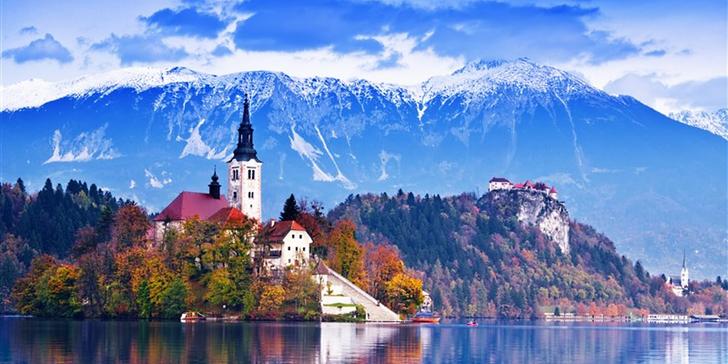 Slovinsko - malá země plná velkých překvapení: 3x ubytování se snídaní