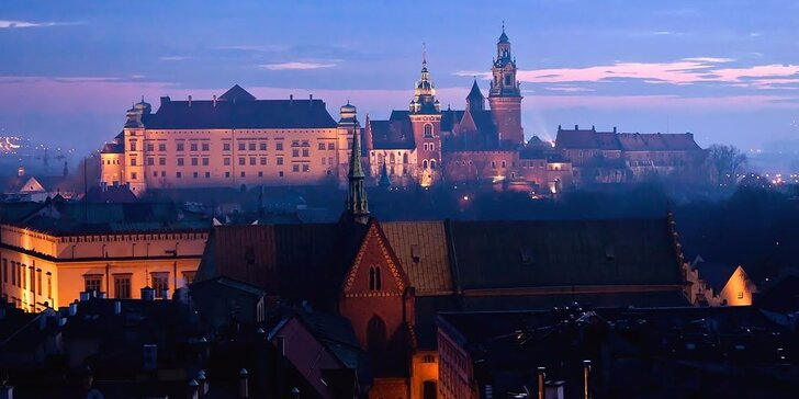 Romantický pobyt v historických Niepołomicích nedaleko Krakova pro dvě osoby