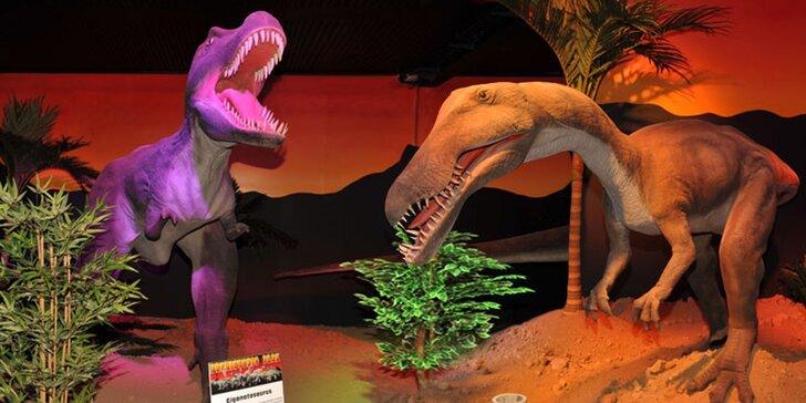 Vzrušující návštěva Prehistoric parku Chvalovice s pohyblivými dinosaury