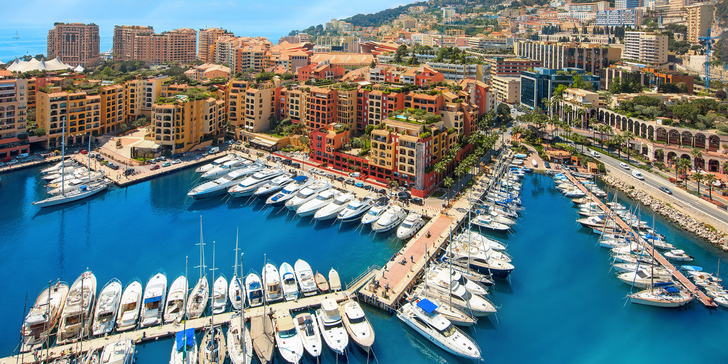 Monako: Jardin de Exotique, Grand Casino, Oceánografické muzeum, Knížecí palác