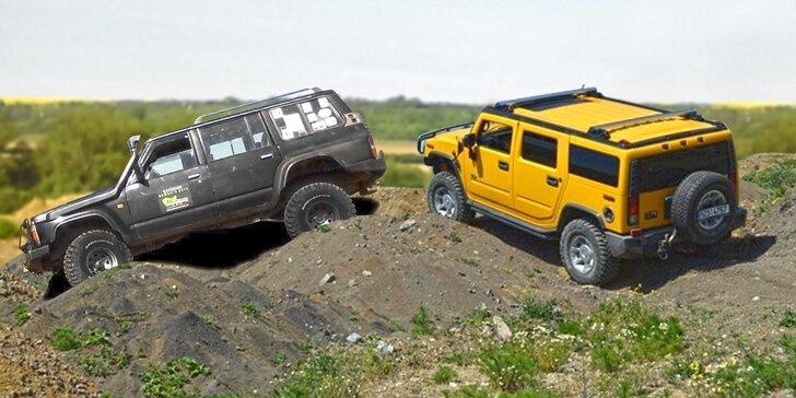 Dejte terénu na frak v Hummeru H2 nebo v offroadovém speciálu Nissan Patrol