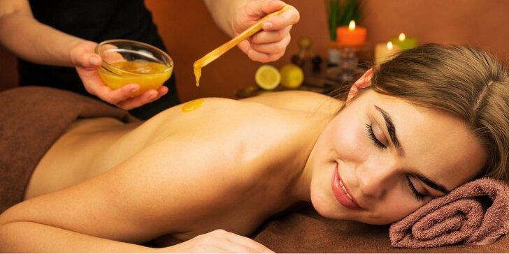 Jarní relax: Medová detoxikační masáž na 60 minut