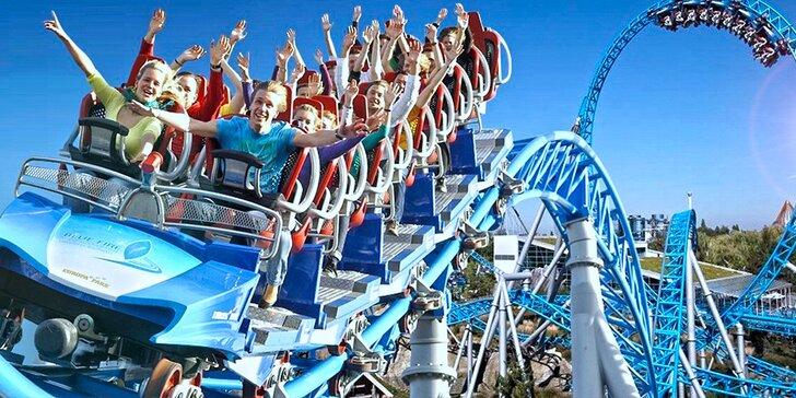 Strhující zábava: Největší zábavní park v Evropě vč. vstupů na atrakce