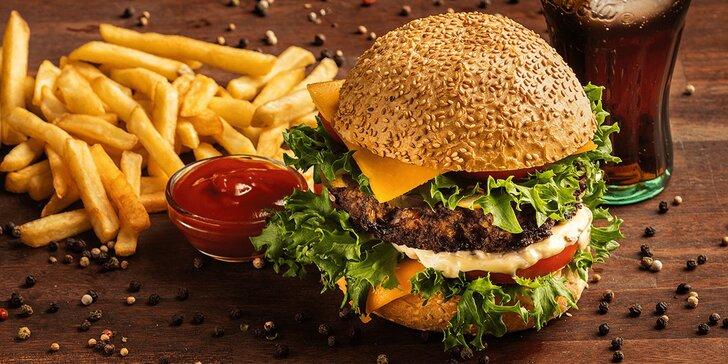 Vážení cestující, nastupte do Vagonu: burger a hranolky pro 1, 2 nebo 4 pasažéry