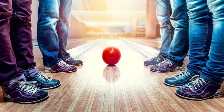 Hurá, jde se na bowling: 1 nebo 2 hodiny parádní zábavy až pro 8 kamarádů