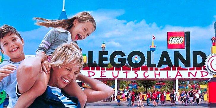 Celodenní dovádění v Legolandu: doprava a vstup do parku i na atrakce