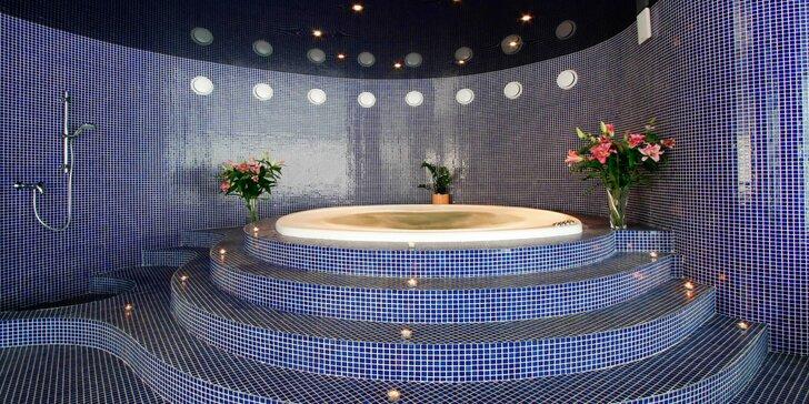 Luxusní romantika v Mariánkách: Polopenze a bohatý balíček wellness procedur