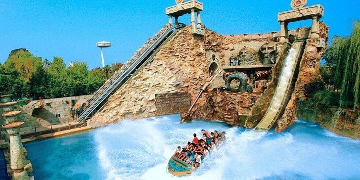 Výlet do zábavního parku Gardaland v Itálii vč. vstupů na atrakce