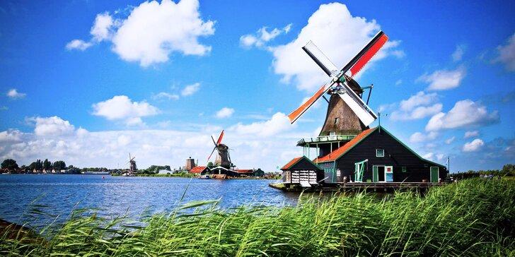 Víkend v Amsterdamu včetně návštěvy sýrárny a větrných mlýnů