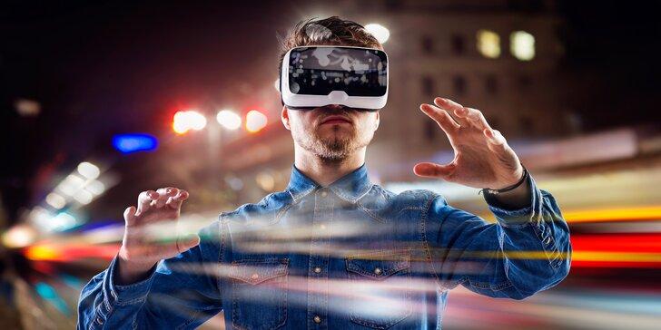 Jedinečný zážitek: 30 až 60 minut v nejmodernější virtuální realitě HTC Vive