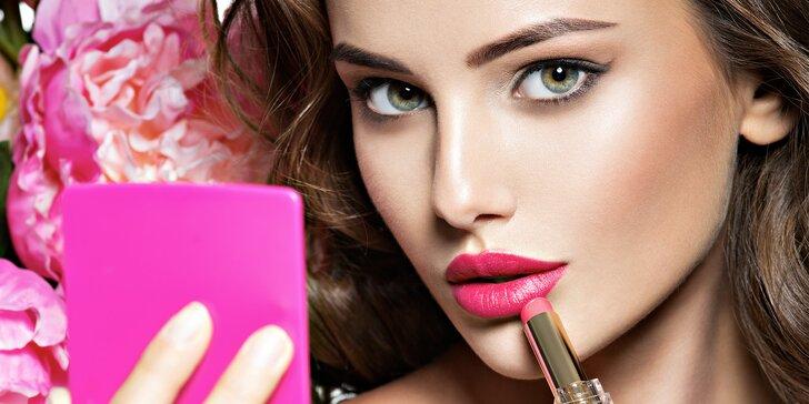 Víkendová proměna vizáže - make-up, styling vlasů, doplňků a foto