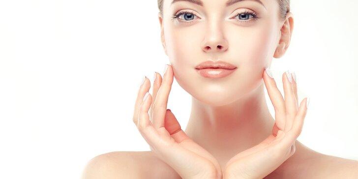 Radiofrekvenční ošetření obličeje s aplikací kyseliny hyaluronové