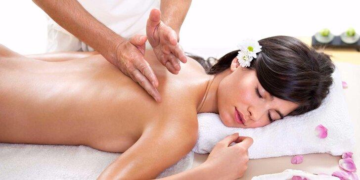 Hodinová masáž dle vlastního výběru: 7 druhů pro uvolnění a relaxaci