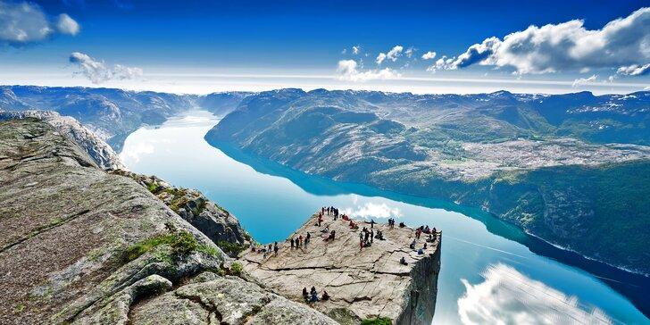 Úchvatné Norsko: velký poznávací okruh vč. dopravy, ubytování a služeb průvodce
