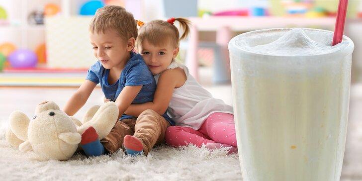 Celý den v dětské herně a kavárně Kids Jungle vč. hrnečku babyccina a limči