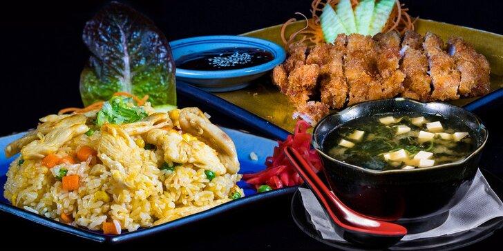 Okuste rozmanitost japonské kuchyně: obědové menu pro dvě osoby