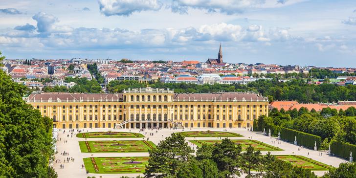 Na otočku do romantické Vídně: Ubytování u zámku Schönbrunn včetně snídaně