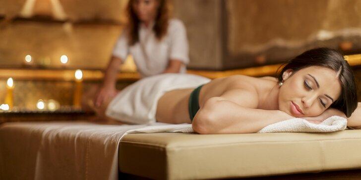 Blahodárná 70 minutová luxusní masáž v nových prostorech salonu Elite