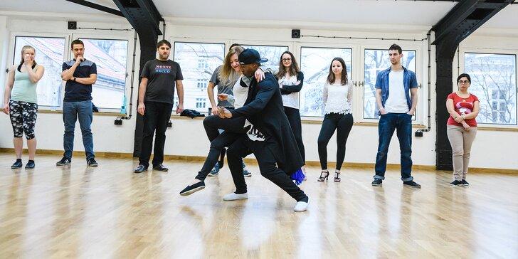 Ghetto Zouk a Kizomba - jedna nebo čtyři individuální taneční lekce pro muže i ženy