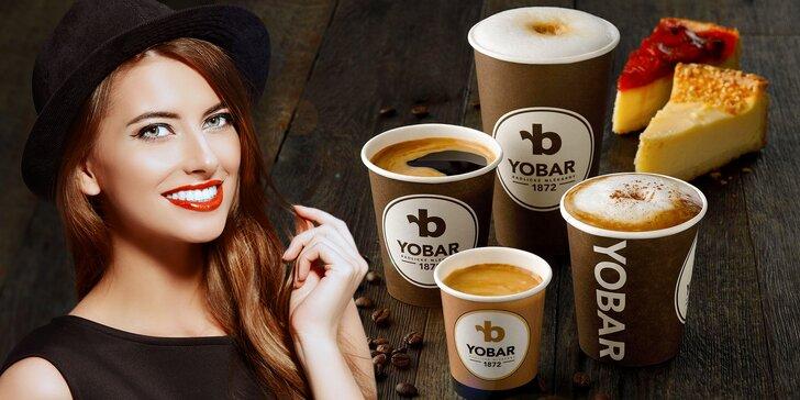 Stavte se v Yobaru pro svačinku: dort z denní nabídky a k němu kafe nebo čaj