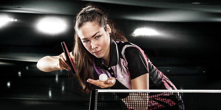 Stolní tenis pro veřejnost v profi prostředí
