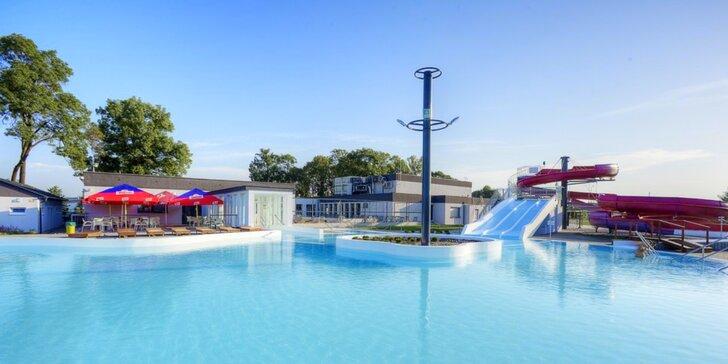 Perfektní letní odpočinek v Termálech Malé Bielice pro 2 s polopenzí a wellness