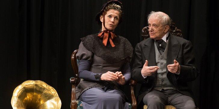 Vstupenka na představení Zlomené srdce lady Pamely