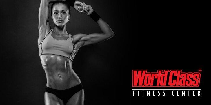 Sportem ke krásné figuře: 2měsíční permice do World Class fitness na Václaváku