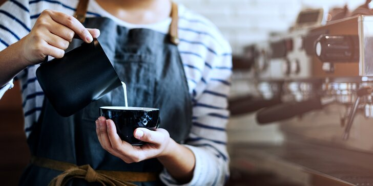 Baristický kurz domácí přípravy espressa a cappuccina pro milovníky kávy