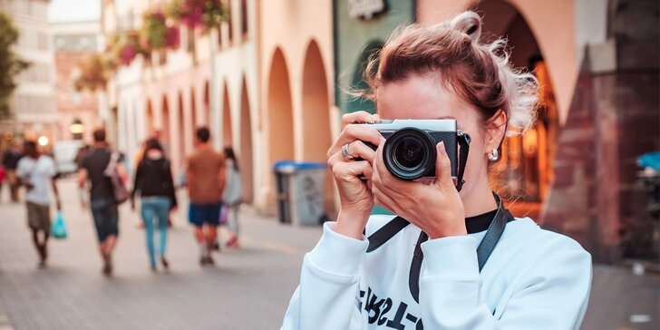 Naučte se zachytit kouzlo okamžiku i emocí - kurz street nebo makro fotografie